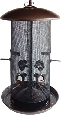 Stokes Select 38113 B001M7P3N4, Giant Combo Outdoor Bird Feeder, 2 Seed Com, Black