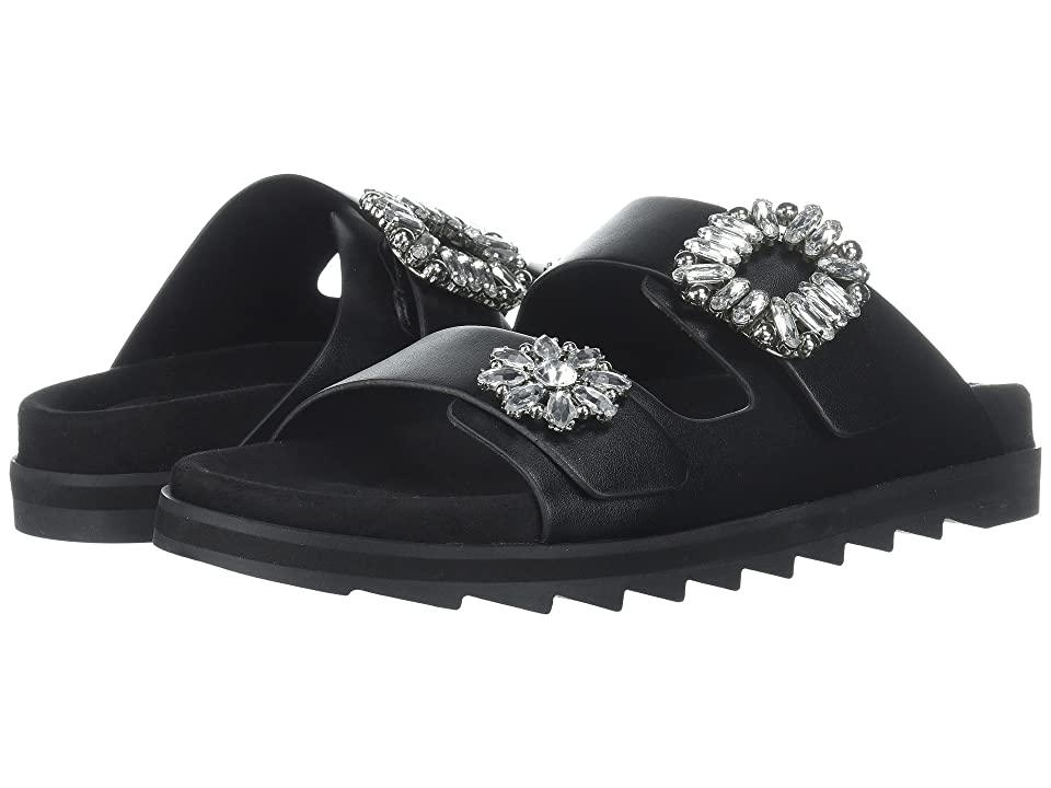 9e4f84f7aa6a GUESS Cambrie (Black Synthetic) Women s Sandals