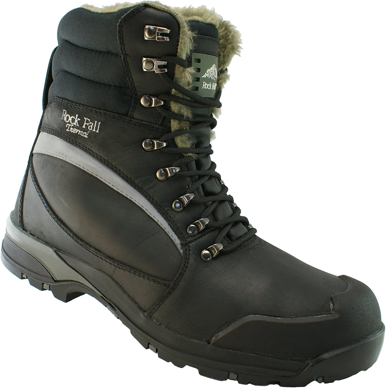 Rock Fall Rockfall Men's Alaska Thermal Lined Composite Predective Safety Work Boots