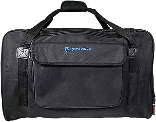 Rockville TB12 Lightweight Rugged Speaker Bag Carry Case for 12