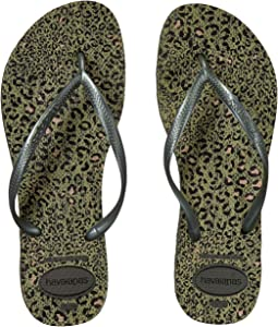 97f246bfeae1 Havaianas. Slim Animals Flip Flops.  28.00. 4Rated 4 stars4Rated 4 stars.  Olive Green Metallic