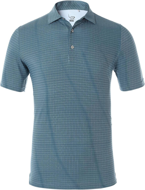 EAGEGOF Regular Fit Men's Shirt Stretch Performance Bargain Cash special price Golf Po Tech