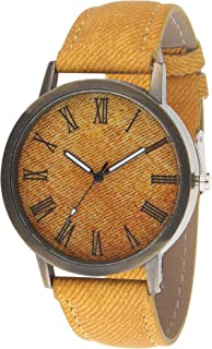 Zesta Analogue Watch for Mens- Jeans Cloth Dial