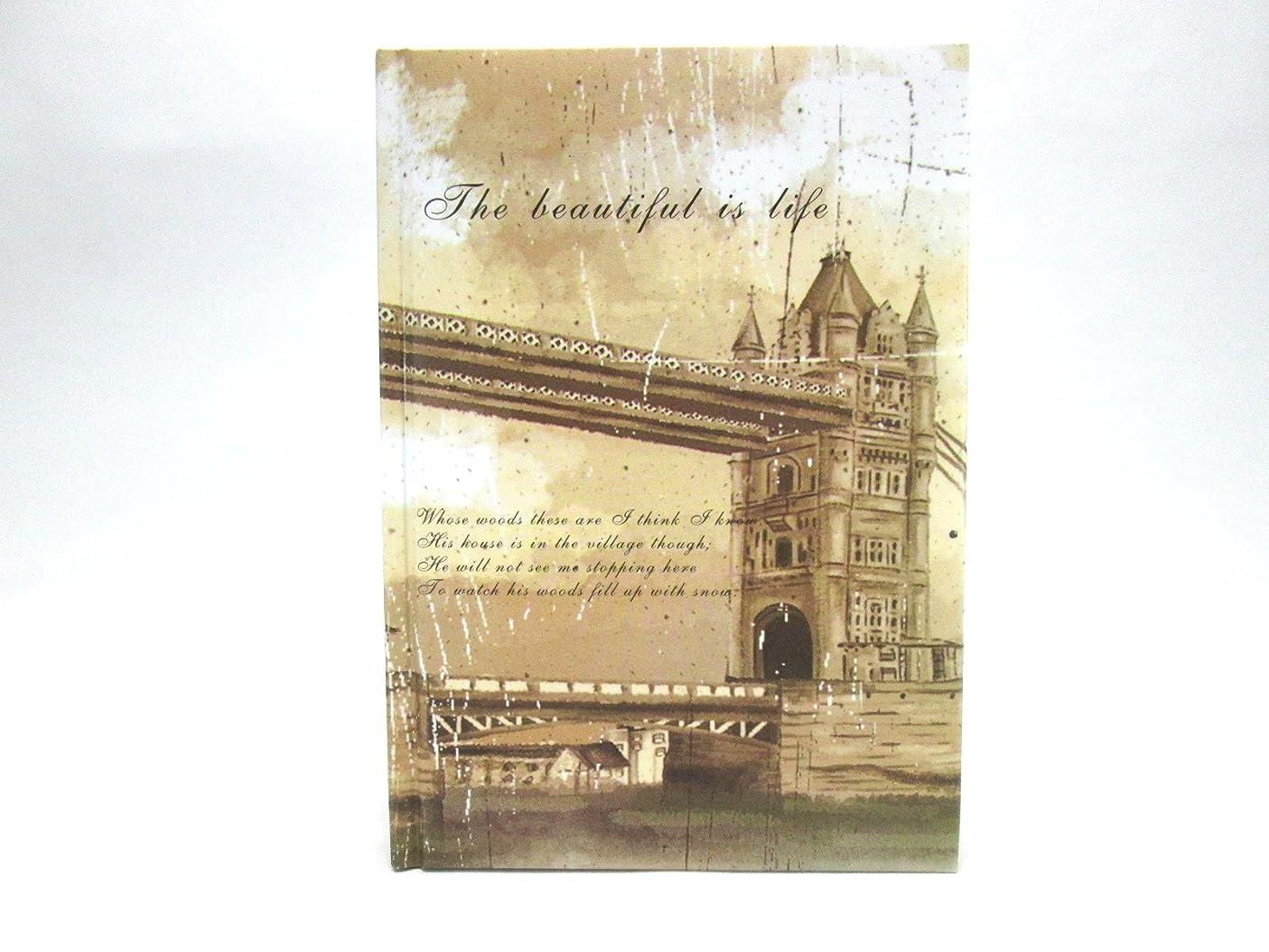 案件有名人アリーナ【Deli】 ノート 硬表紙 ヨーロッパの風景 A5サイズ (並行輸入品) (大橋)
