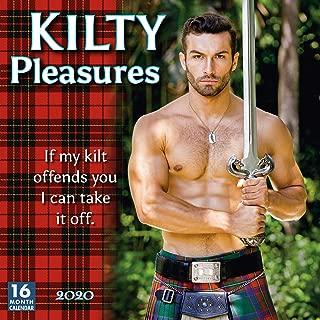 Kilty Pleasures 2020 Wall Calendar 16-Month
