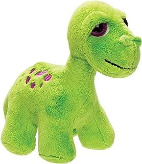 Small Bright Green Brontosaurus Soft Toy