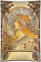 GRAPHICS & MORE Zodiac Alphonse Mucha Art Nouveau Home Business Office Sign - Vinyl Banner - 22