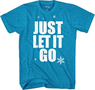 Frozen Elsa Just Let It Go Disneyland Graphic Adult T-Shirt