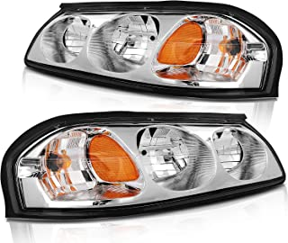 Amazon Com Headlight Assembly For 2002 Chevy Impala Automotive