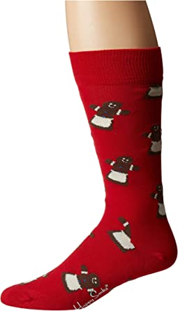 Gingerbread Woman Sock