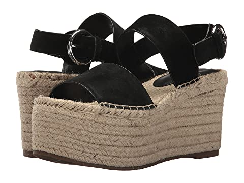 Black Renni Espadrille Wedge Suede LTD Platform Marc Fisher Multi 67tqYwtxE
