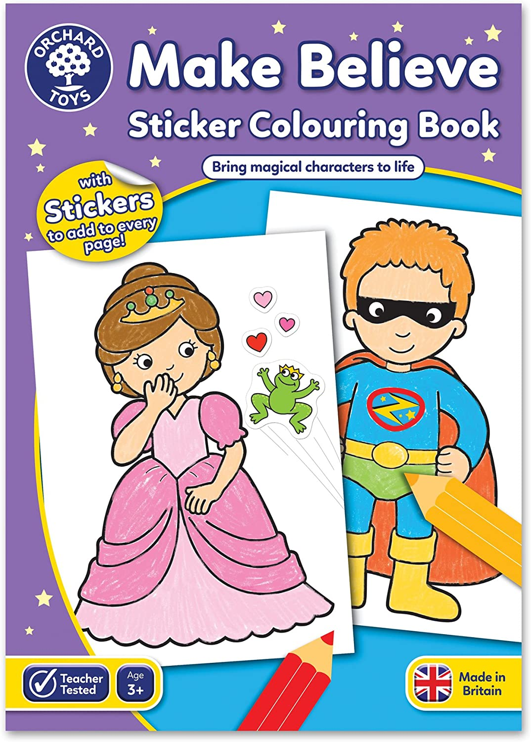 Orchard Toys Cheap super special price Make Believe Children's List price Book Colouring