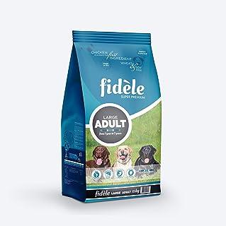Fidele Dry Dog Food, Adult Large Breed, 15-kg