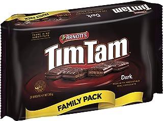 Arnott's Tim Tam Dark Chocolate Biscuit Family Pack, 365 g
