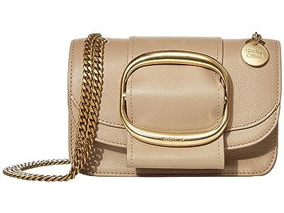 See by Chloe Hopper Shoulder Bag (Motty Grey) Handbags