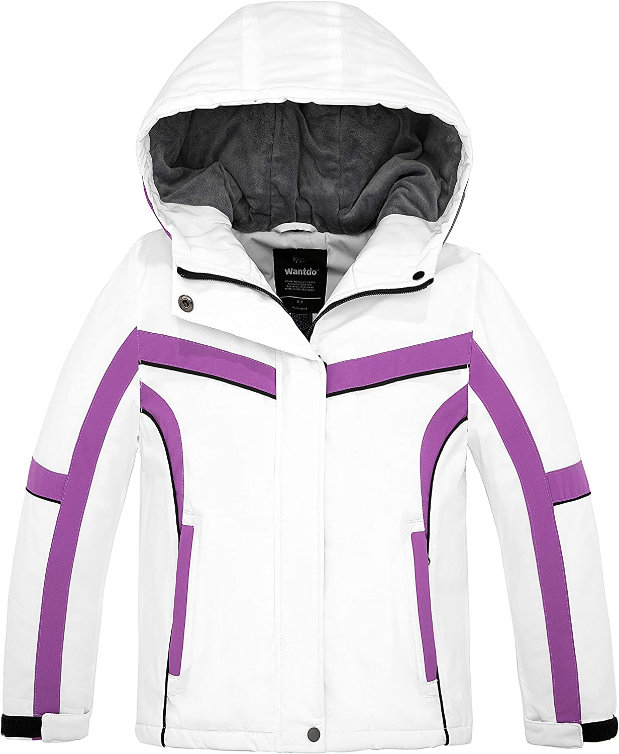 Wantdo Girl's Waterproof Ski Jackets Max 75% OFF Snowboard Windproof Jacket Today's only
