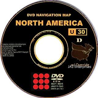 Toyota Lexus Navigation Map Update DVD Ver 15.1 U30 with Override Gen4