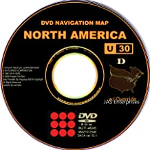 Toyota Lexus Navigation Map Update DVD Ver 15.1 U30 with Override Gen4
