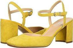 Summer Yellow Diva Suede