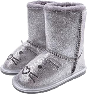 festooning Girls Animal Character Boots Slippers