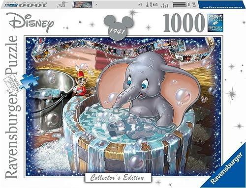 Ravensburger - Puzzle Adulte - Puzzle 1000 p - Dumbo (Collection Disney) - Adultes et enfants à partir de 14 ans - Pu...