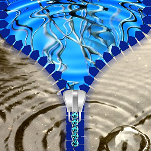 Pantalla de bloqueo del agua de la cremallera