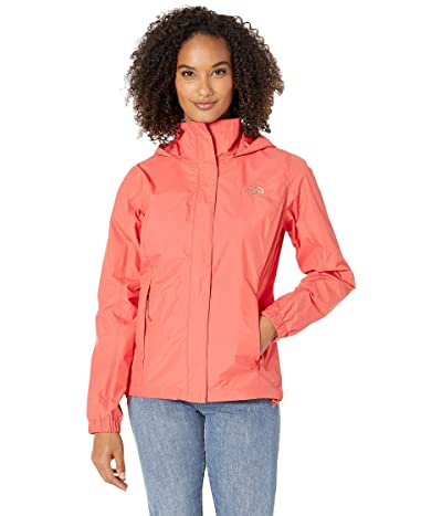 The North Face Resolve 2 Jacket (Spiced Coral) Women