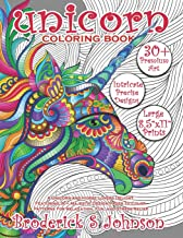 Unicorn Coloring Book: A Unicorn and Horse Lovers Delight Featuring 30+ Majestic Design Pages To Color | Patterns For Relaxation, Fun, and Stress Relief (Majestic Unicorn)