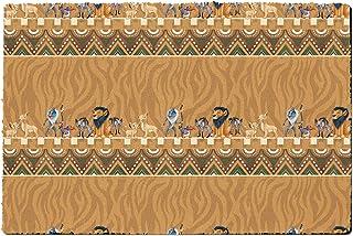 Rainbow Rules Indoor Doormat - Lion King Friends Tribal Disney Inspired