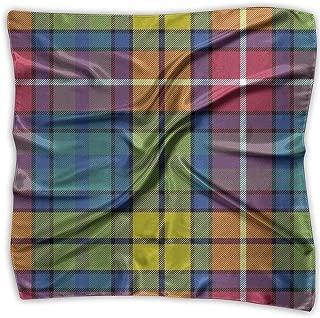 Buchanan Ancient Tartan Women's Square Scarf Fashion Warm Soft Handkerchief Bandanas Neckerchief