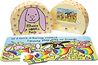 Jellycat If I were a Rabbit Puzzle for Toddlers, 15 Pieces