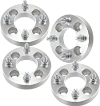 SCITOO 4x114.3 to 4x100 Wheel Adapter 4X 1 inch Wheel Spacers 4x4.5 Cars use 4x100 Wheel Bolt On 12x1.5 Studs 67.1mm CB Adapters Fits Nissan Altima Hyundai Accent Tiburon Sonata Elantra Ford Mustang