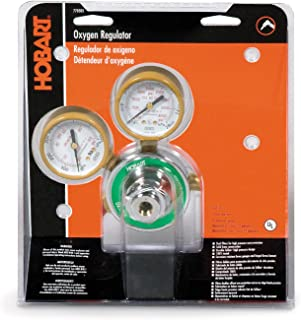 Hobart 770503 CGA-540 Medium Duty Oxygen Regulator and Gauges
