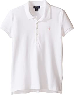 Polo Ralph Lauren Kids Short Sleeve Mesh Polo Shirt (Little Kids/Big Kids)