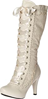 victorian wedding boots