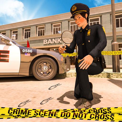 Policía virtual oficial de crimen detective juegos gratis