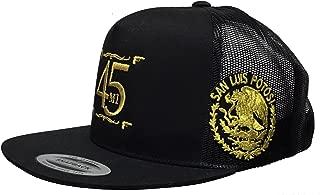 El Fantasma Y Su 45 De San Luis Potosí 2 Logos Federal Hat Black Mesh Snapback
