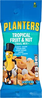 PLANTERS Fruit and Nut Trail Mix, 2 oz Single Serve Bags (Pack of 72) - Trail Mix Snack Pack for On the Go Snacking - Grea...