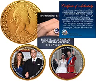 Best william and kate engagement coin Reviews