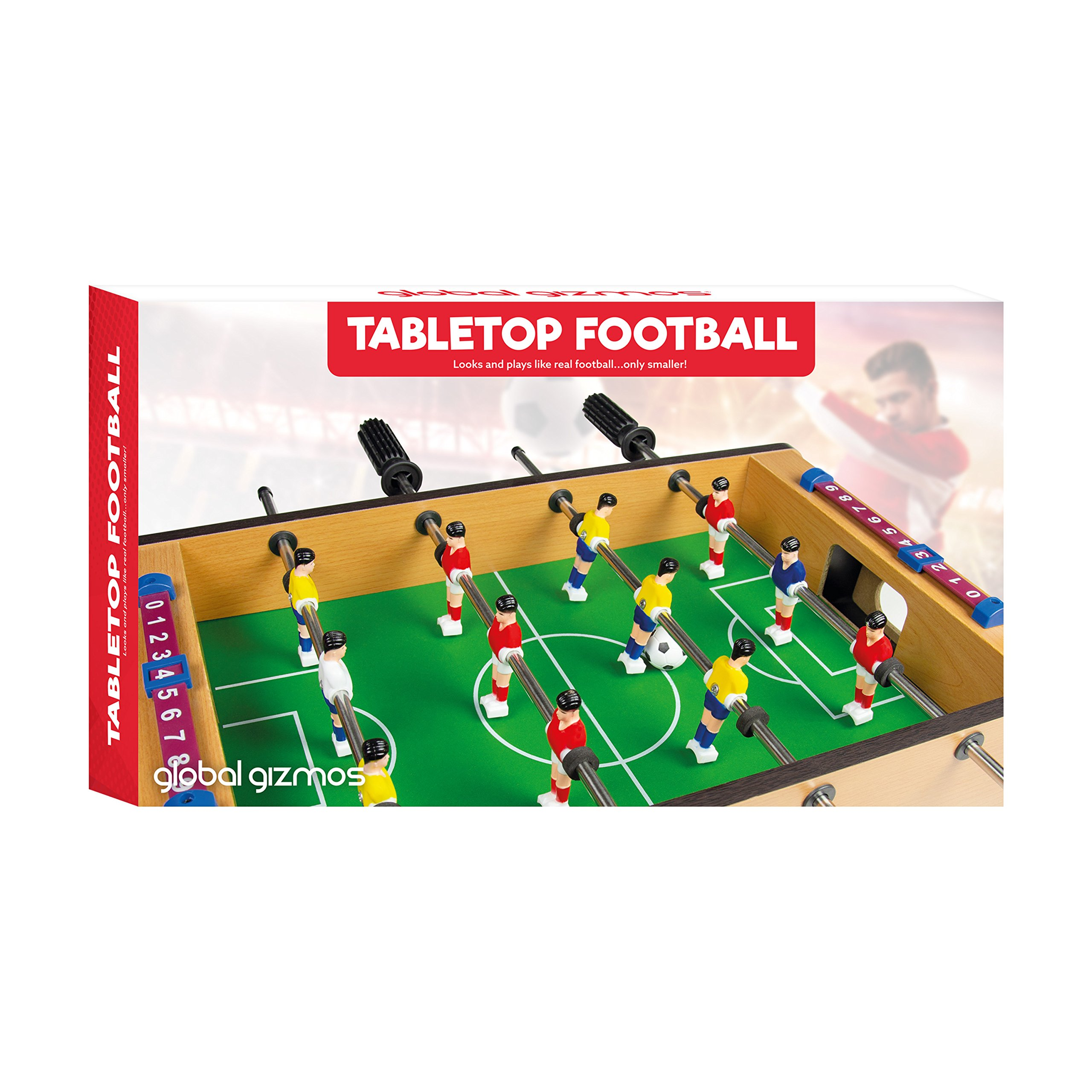 Global Gizmos Table Top Football Foosball Game by Global Gizmos ...