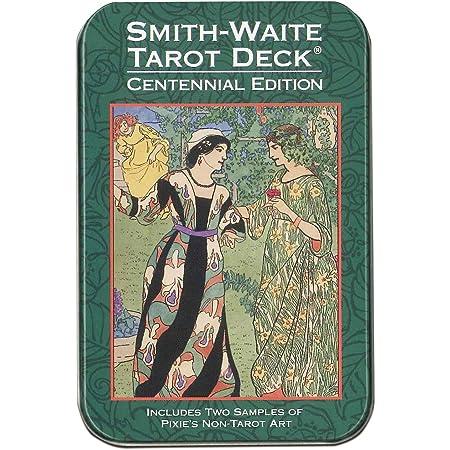 スミス・ウェイト・センテニアル・タロット(缶入り) 日本語小冊子『ポケットマニュアル』付