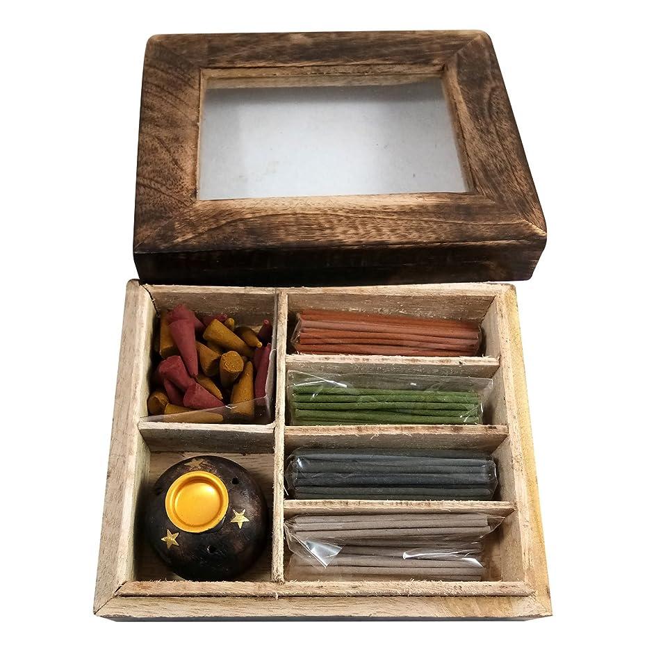 原因レギュラー略す手作りの木製工芸品の香りスティックボックスギフトパックの用途ホームフレグランス目的、個人&企業の贈り物 スティック&スタンド付きスティックギフトパック