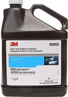 3M Super Duty Rubbing Compound (05955) – For Boats and RVs – 1 Gallon