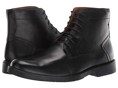 Massimo Matteo Plain Toe Boot (Black) Men