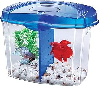 Aqueon Betta Bowl Aquarium Kit in Black