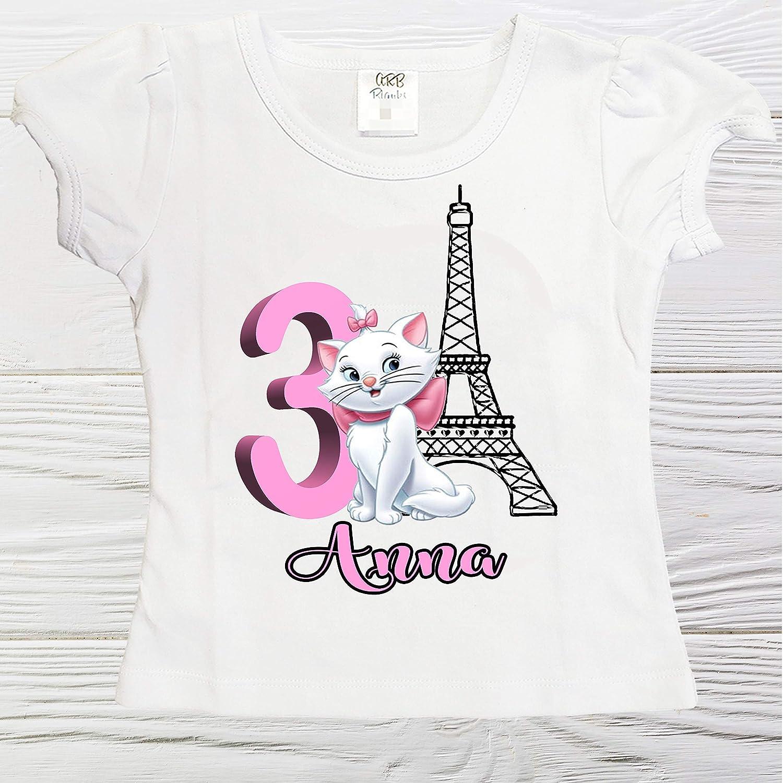 Marie girls shirt Baltimore Mall birthday Paris Personalized Low price