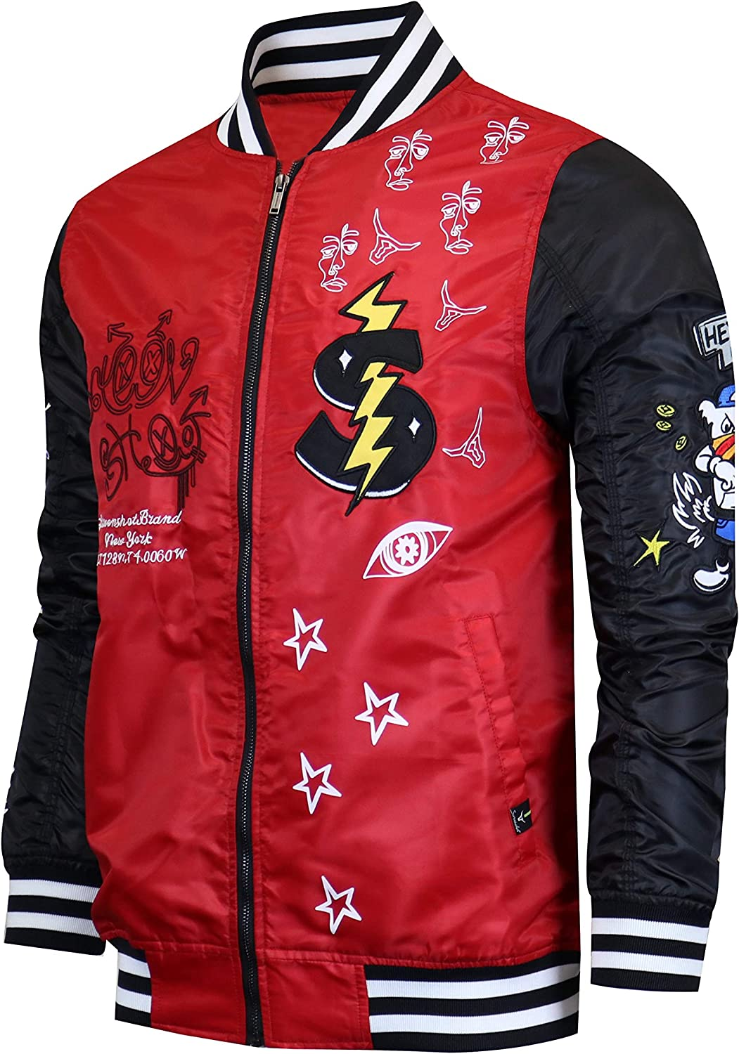 SCREENSHOT Hip-Hop Urban NYC favorite Fashion - Outd Modern Jacket Bomber Recommended