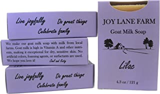Joy Lane Farm - Goat Milk Soap (Lilac)