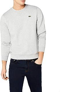 LACOSTE Men's 1HS1 Sweatshirt, Grey (Silver Chine), Large