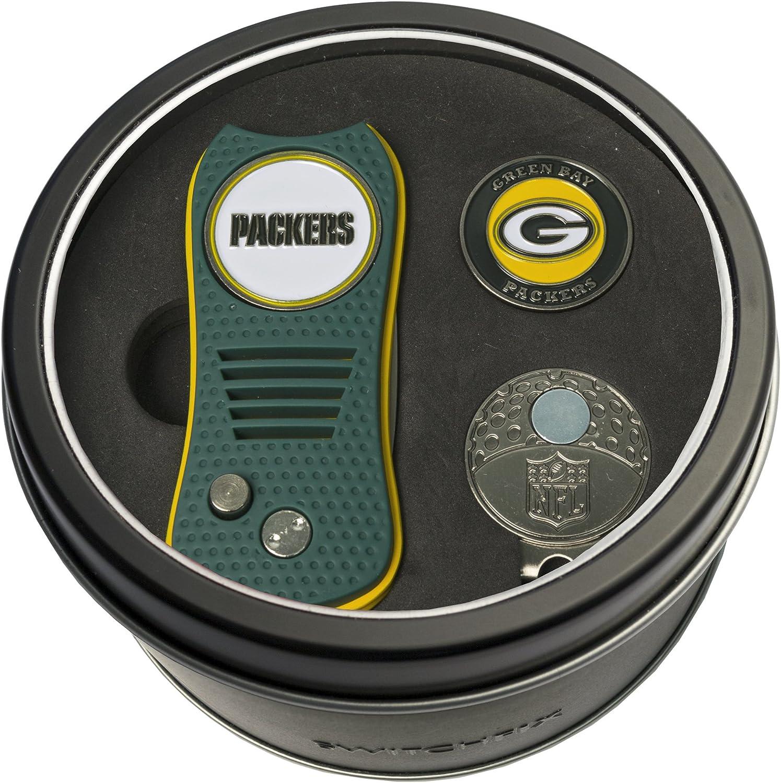 Team Max 86% OFF Golf NFL Green Bay Packers C Divot Tool Switchfix Max 64% OFF Set Gift